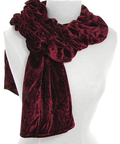 Scrunchy Square-Edged Scarf
