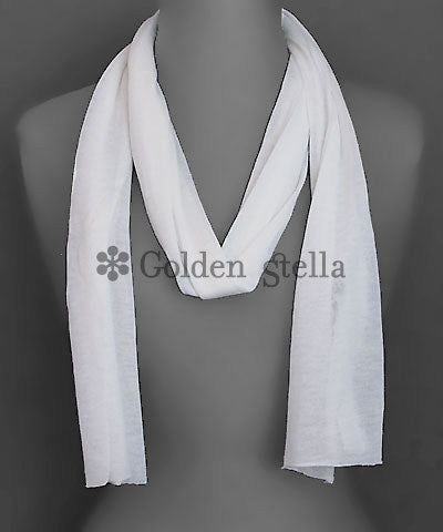 Thin Fabric Oblong Scarf