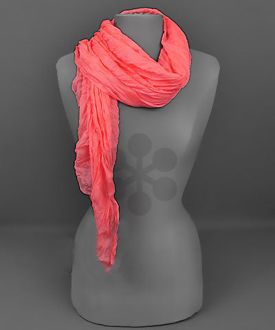 Twisted Fabric Oblong Scarf