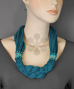 Knotted Necklace Scarf