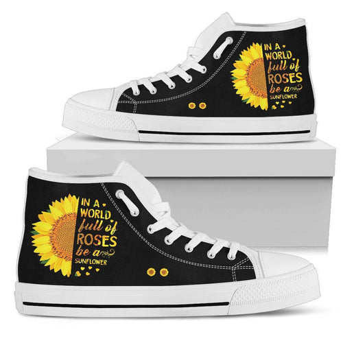 Be A Sunflower Women's High Top Shoe
