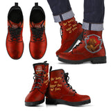 Harry Potter 4 House Men's Leather Boots HP0107