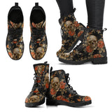 Halloween Leather Boots HLW001