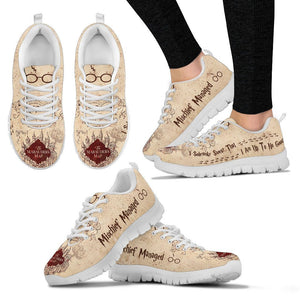 Marauder's Map Women's Running Shoes