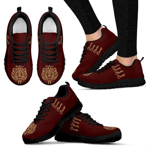 Harry Potter Hogwarts 4 Houses Women's Running Shoes HP0037 - Gryffindor - Black / US5 (EU35) - Ineffable Shop