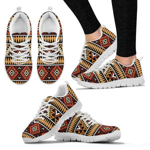 New Native American Women's Costume Shoes NT055 - Women's Sneakers - White - Native 2 / US5 (EU35) - Ineffable Shop