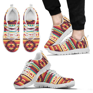 Native American Men's Running Shoes NT032 - Men's Sneakers - White - Native 2 / US5 (EU38) - Ineffable Shop
