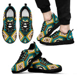 New Naive American Pattern Men's Sneakers NT044 - Men's Sneakers - Black - Native 1 / US5 (EU38) - Ineffable Shop