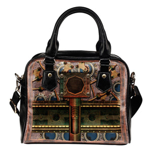 Steampunk Spring Shoulder Handbag - - Ineffable Shop