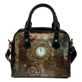 Clocks & Cogs Steampunk Handbag - - Ineffable Shop