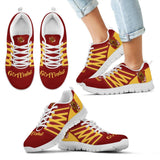Harry Potter 4 Houses Kid's Running Shoes HP0030 - Gryffindor - White / 11 CHILD (EU28) - Ineffable Shop