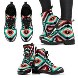 New Design Native American Leather Boots NT010 - - Ineffable Shop