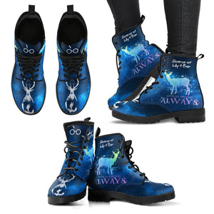 HARRY POTTER ALWAYS WOMEN'S BOOTS - CUSTOMIZED FOR BLOODANGEL