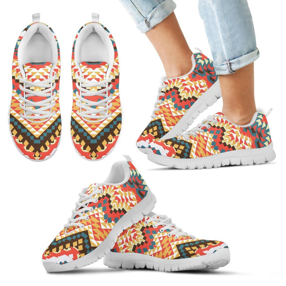 New Native American Kid's Running Shoes NT042 - Kid's Sneakers - White - Native 2 / 11 CHILD (EU28) - Ineffable Shop