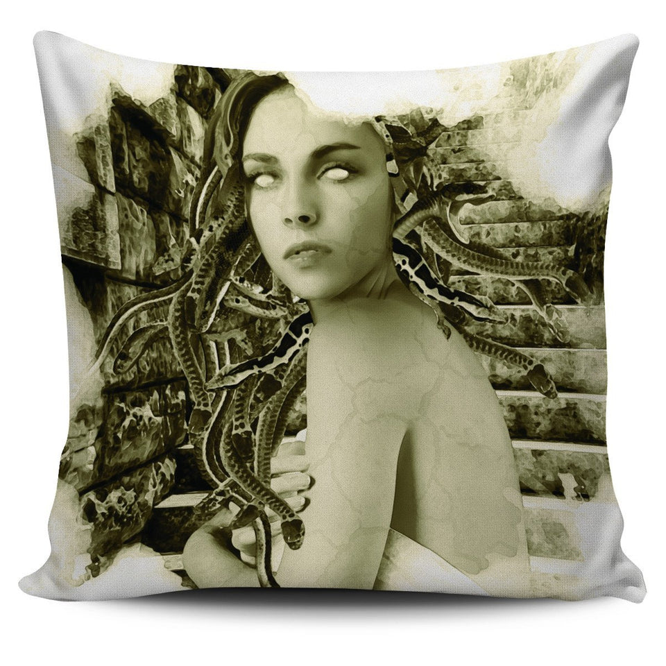 Pillow Covers Mythology Medusa (Vintage) - - Ineffable Shop