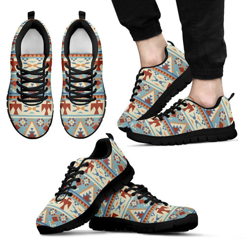 Native American Men's Running Shoes NT076 - Men's Sneakers - Black - Native American 1 / US5 (EU38) - Ineffable Shop