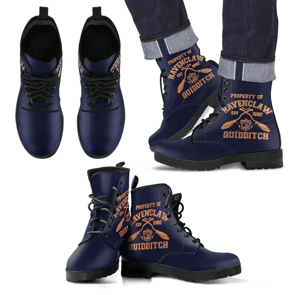 Harry Potter 4 House Quidditch Men's Leather Boots HP0109