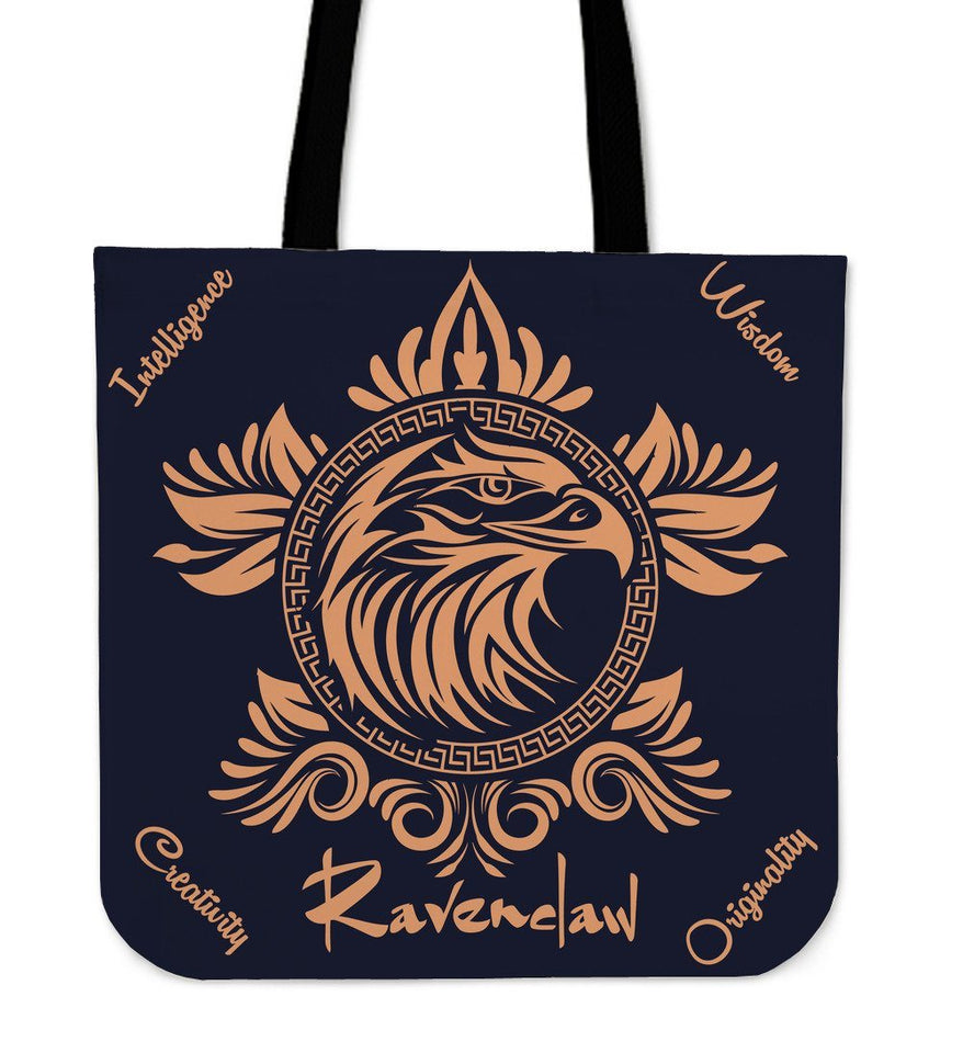 Harry Potter 4 House Tote Bag HP0057 - Ravenclaw - Ineffable Shop