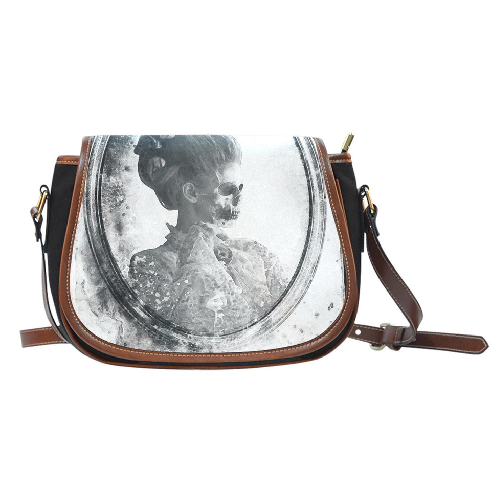 Saddle Bag Ghost in the Mirror (Vintage) - - Ineffable Shop