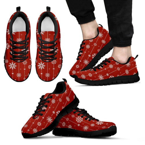 Christmas Men's Sneakers Design - Men's Sneakers - Black - Christmas 1 / US5 (EU38) - Ineffable Shop