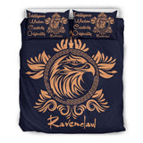 Harry Potter 4 Houses Bedding Set HP0044 - Ravenclaw - Black / Twin - Ineffable Shop