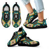 New Naive American Pattern Kid's Sneakers NT045 - Kid's Sneakers - Black - Native 1 / 11 CHILD (EU28) - Ineffable Shop