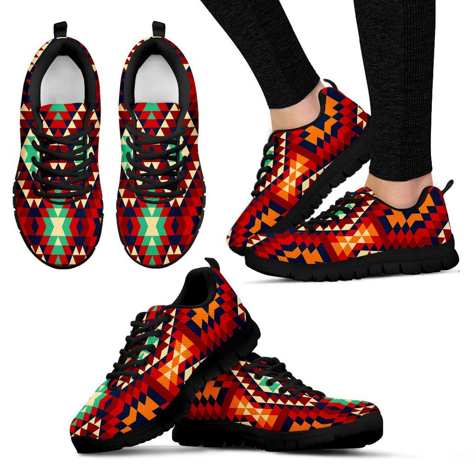 New Native American Women's Sneaker NT037 - Women's Sneakers - Black - Native 1 / US5 (EU35) - Ineffable Shop
