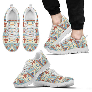 Native American Men's Running Shoes NT076 - Men's Sneakers - White - Native American 2 / US5 (EU38) - Ineffable Shop