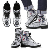 Harry Potter Expector Patronum Leather Boots Design HP0131 - - Ineffable Shop