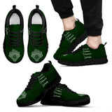 Harry Potter Hogwarts 4 Houses Men's Running Shoes HP0038 - Slytherin - Black / US5 (EU38) - Ineffable Shop