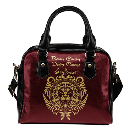Harry Potter 4 Houses Shoulder Handbag HP0041 - Gryffindor - Ineffable Shop