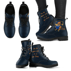 Hogwarts 4 Houses Women's Boots HP0003 - Ravenclaw / US5 (EU35) - Ineffable Shop
