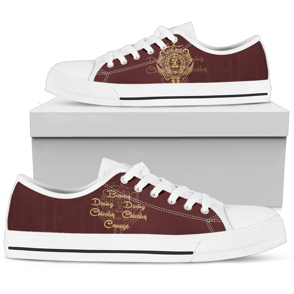 Harry Potter 4 House Women's Low Top Canvas Shoe HP0052