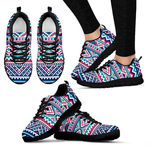 Native American Women's Running Shoes NT072 - Women's Sneakers - Black - Native 1 / US5 (EU35) - Ineffable Shop