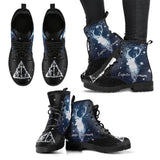 Harry Potter Expector Patronum Leather Boots HP0129 - Ineffable Shop