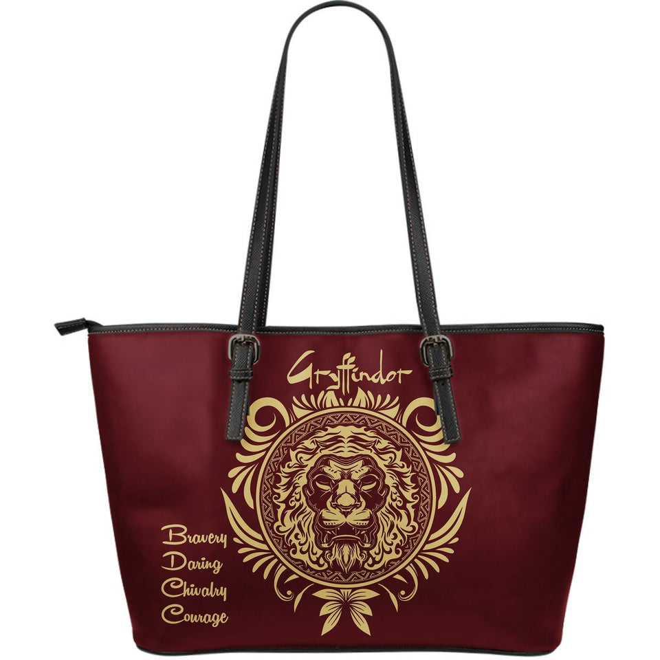Harry Potter 4 Houses Large Tote HP0042 - Gryffindo - Ineffable Shop