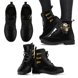 Hogwarts 4 Houses Women's Boots HP0003 - Hufflepuff / US5 (EU35) - Ineffable Shop