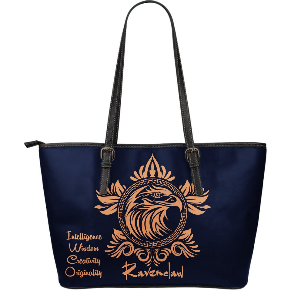 Harry Potter 4 Houses Large Tote HP0042 - Ravenclaw - Ineffable Shop