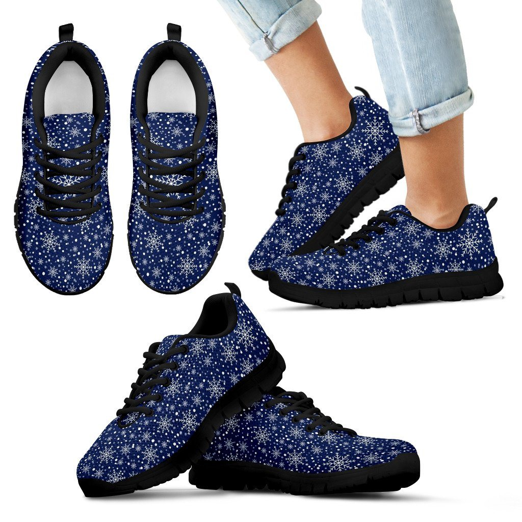 Christmas Kid's Costume Shoes - Kid's Sneakers - Black - Christmas 1 / 11 CHILD (EU28) - Ineffable Shop