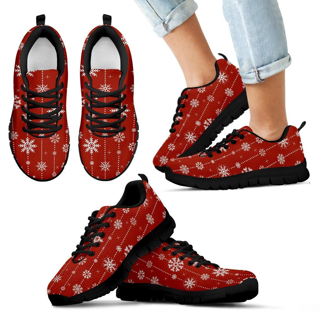 Christmas Kid's Sneakers Design - Kid's Sneakers - Black - Christmas 1 / 11 CHILD (EU28) - Ineffable Shop