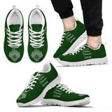 Harry Potter Hogwarts 4 Houses Men's Running Shoes HP0038 - Slytherin - White / US5 (EU38) - Ineffable Shop