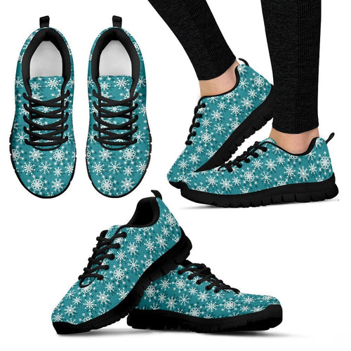 Christmas Women's Running Shoes Design - Women's Sneakers - Black - Christmas 1 / US5 (EU35) - Ineffable Shop