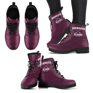 Harry Potter Hogwarts Alumni Leather Boots HP0138 - - Ineffable Shop