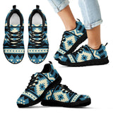 Native American Pattern Kid's Sneakers NT021 - Kid's Sneakers - Black - Native American 1 / 11 CHILD (EU28) - Ineffable Shop