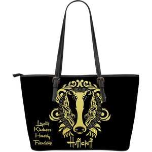Harry Potter 4 Houses Large Tote HP0042 - Hufflepuff - Ineffable Shop