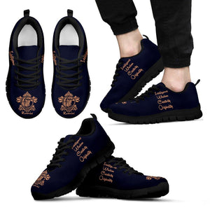 Harry Potter Hogwarts 4 Houses Men's Running Shoes HP0038 - Ravenclaw - Black / US5 (EU38) - Ineffable Shop