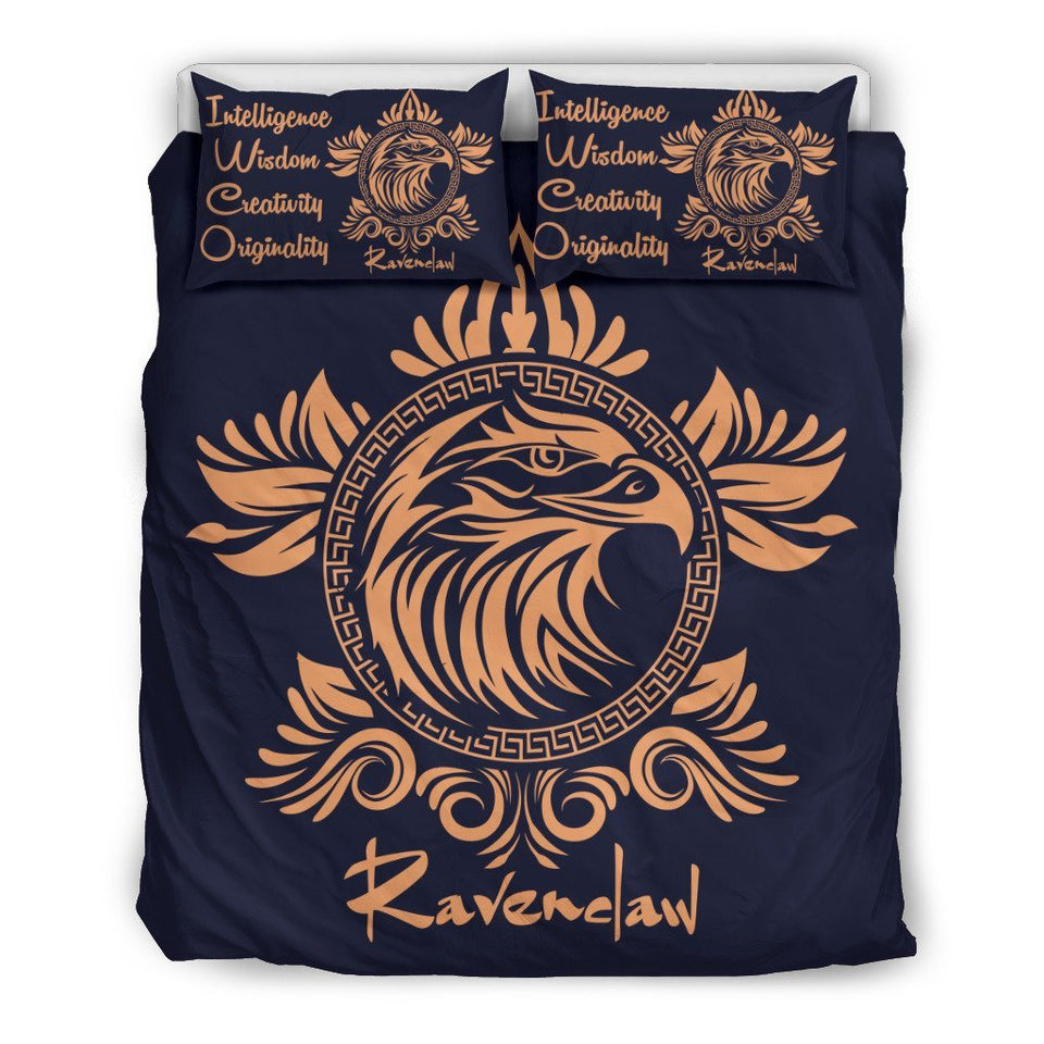 Harry Potter 4 Houses Bedding Set HP0044 - Ravenclaw - Beige / Twin - Ineffable Shop