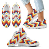 New Native American Indian Kid's Sneaker Design NT068 - Kid's Sneakers - White - Native 2 / 11 CHILD (EU28) - Ineffable Shop
