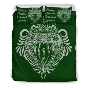Harry Potter 4 Houses Bedding Set HP0044 - Slytherin - Black / Twin - Ineffable Shop