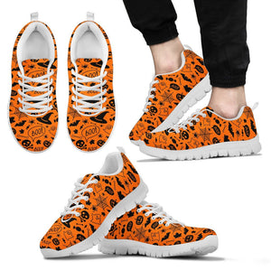 Halloween Men's Costume Shoes HLW012 - Men's Sneakers - White - Halloween 2 / US5 (EU38) - Ineffable Shop
